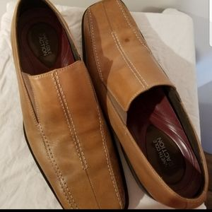 Kenneth Cole Reaction Shoes - Kenneth Cole Reaction leather slip on shoe
